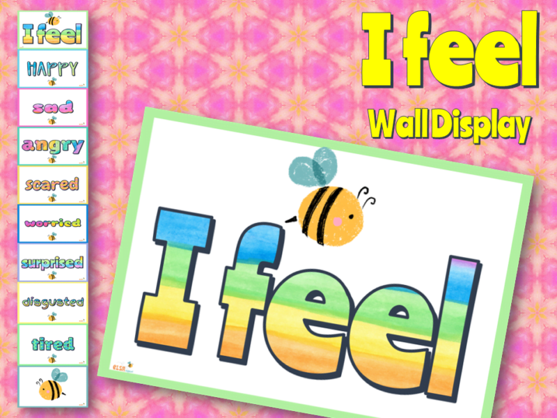 feelings wall display