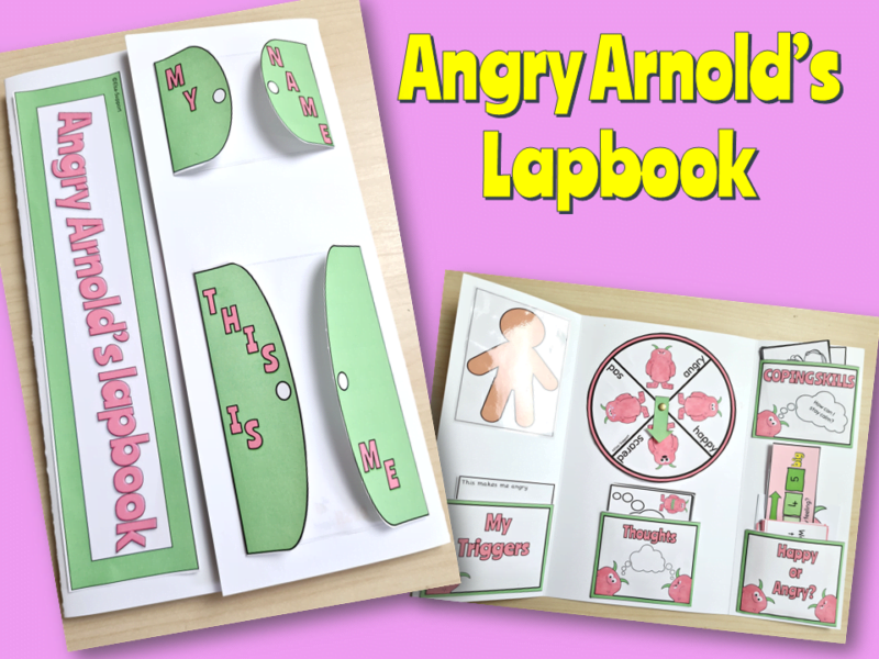 angry arnolds lapbook