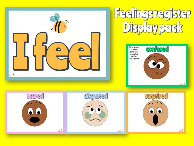 feelings register display