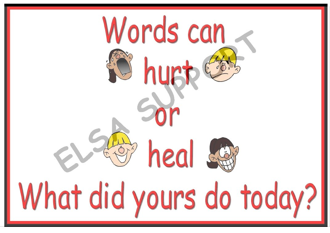the gallery for gt verbal bullying clipart