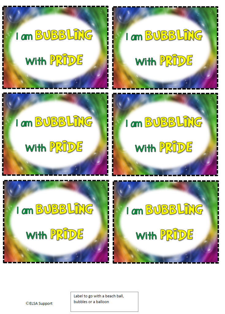 bubbling with pride