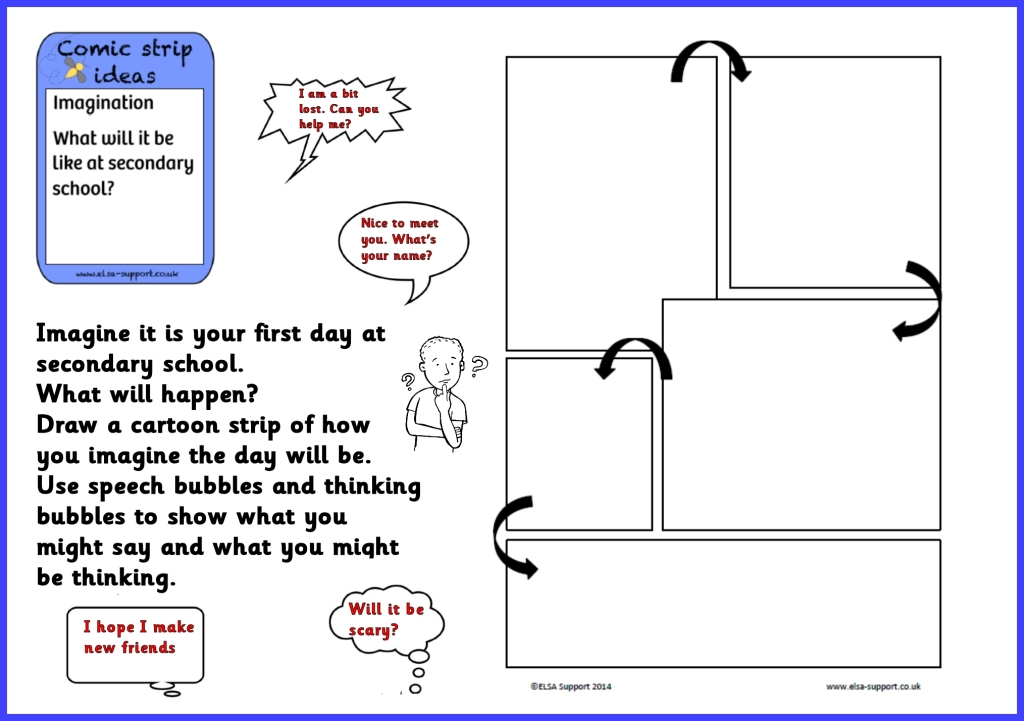 "comic strip lesson plan The goal of this lesson is to help students understand and interpret figurative   comic strip version of ""i wandered lonely as a cloud"" (see pages d6–d8."
