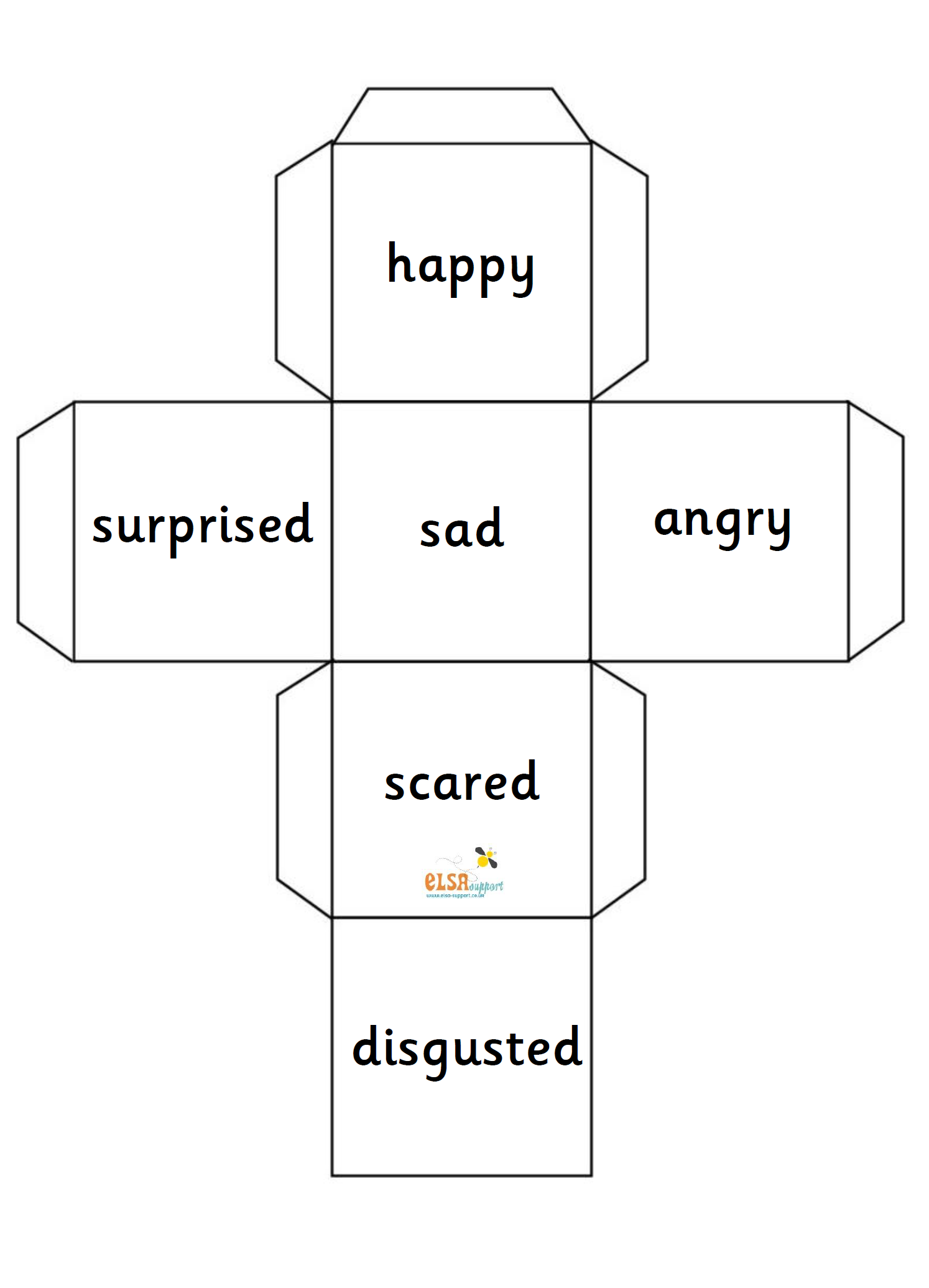 dice net for social and emotional work